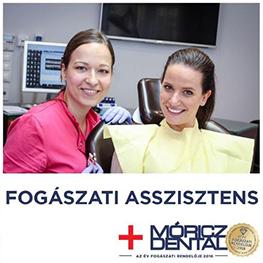Főállású asszisztens álláslehetőség a Móricz Dentalnál.