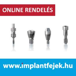 kompatibilis implantátum felépítmények / implantfejek.hu